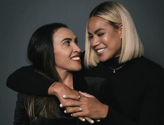 Marta Silva and Toni Pressley Engaged